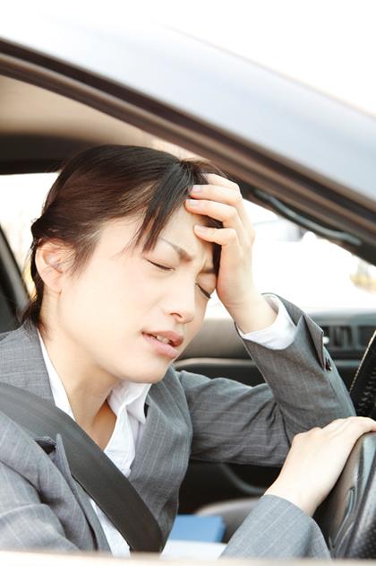事故、頭痛